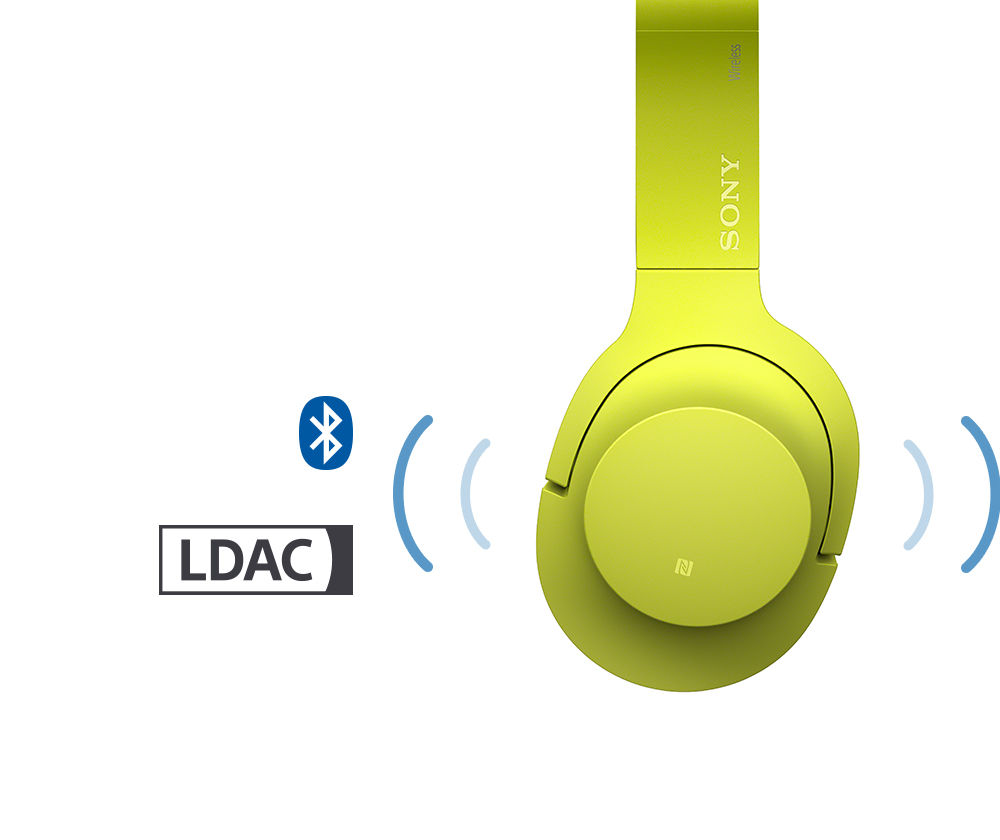 Sony Mdr 100abn Wireless Noise Cancelling Stereo Headset Yellow Headphone Mdr100abn Bluetooth No To